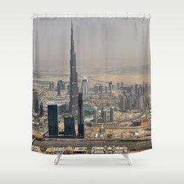 Futurism Shower Curtain