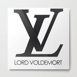 lord voldemort Metal Print