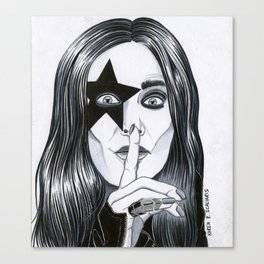 Ozzy - The Starchild Canvas Print