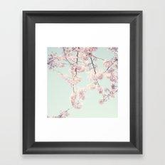 On a spring day Framed Art Print