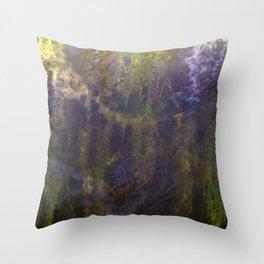 Moss 2 Throw Pillow