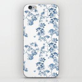Chinoiserie in White iPhone Skin
