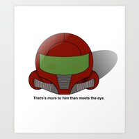 More Than Meets The Eye - Samus Kirby Art Print