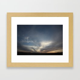 Calm Evening Framed Art Print