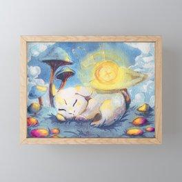 Birth of the White Rabbit | Alice in Wonderland Framed Mini Art Print
