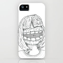Big Mouth iPhone Case