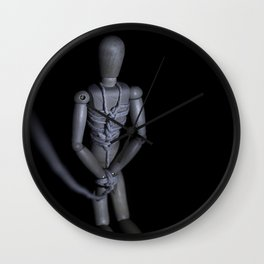 On Your Knees Wall Clock