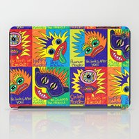 cyclops iPad Cases featuring Cyclops Monster :-) by Sylvie Heasman