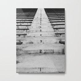 Peden Stadium Stairs Metal Print