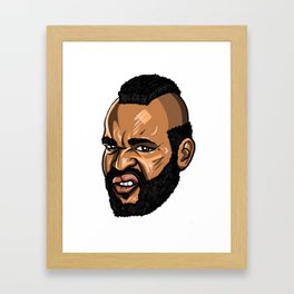 Mr T / Clubber Lang Framed Art Print