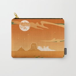 Monument Moon Carry-All Pouch