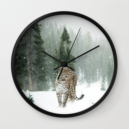Leopard persian Wall Clock