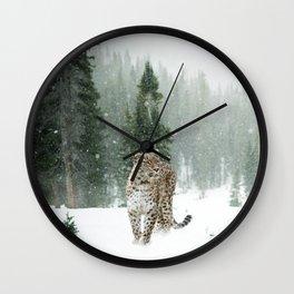 Leopard persian Wall Clock