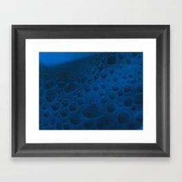 On the Blue Moon Framed Art Print