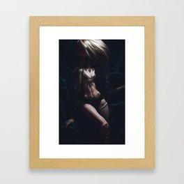 REAL ELEGANCE IS.... Framed Art Print