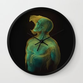 The Human Within Wall Clock