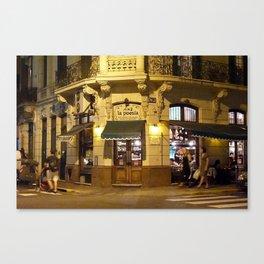 La Poesia, San Telmo, Buenos Aires  Canvas Print