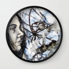 sea self Wall Clock