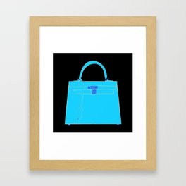 Le Kelly Bag Framed Art Print