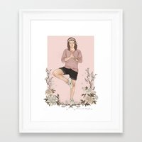 coconutwishes Framed Art Prints featuring Peaceful by Coconut Wishes