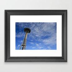 Needle in the Sky Framed Art Print