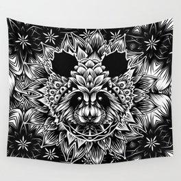 Panda Pattern Wall Tapestry