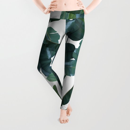 Banana Leaf Decor #society6 #decor #buyart Leggings