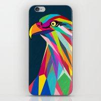 eagle iPhone & iPod Skins featuring Eagle by mark ashkenazi