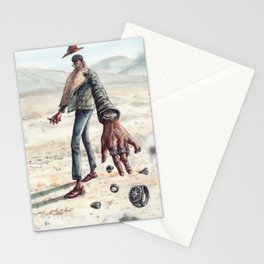 The Desert Man of Many Rings Stationery Cards
