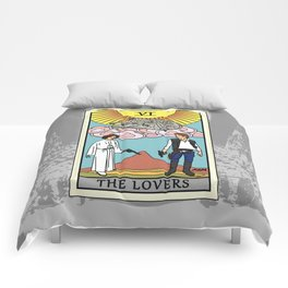 The Lovers - Tarot Card Comforters