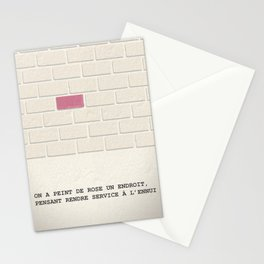 Laurence Anyways : la brique rose Stationery Cards