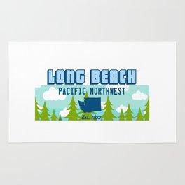 Long Beach Washington State. Rug