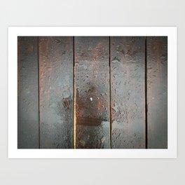 Wood you? Art Print