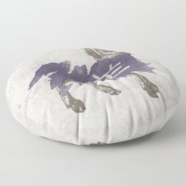 Ram/Goat (Chinese Zodiac - vintage) Floor Pillow