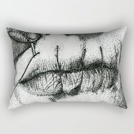 Speak Your Mind Rectangular Pillow