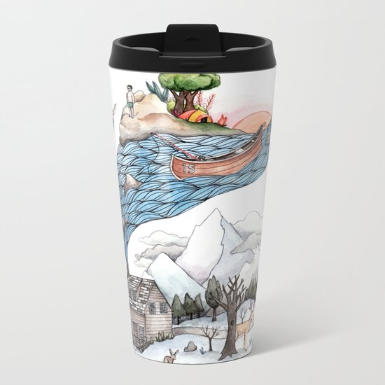 Invincible Summer Metal Travel Mug