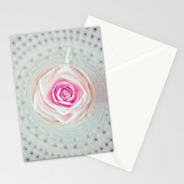 A Cup Of Rose Stationery Cards