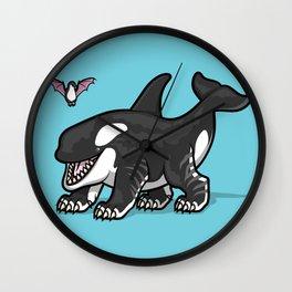 Siberian Orca Wall Clock