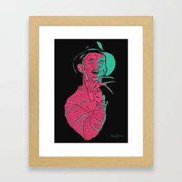 Freddy Kreuger Framed Art Print