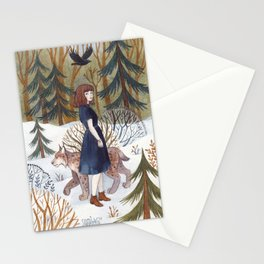 Forest Walk Stationery Cards