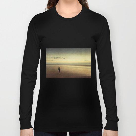boy on a beach Long Sleeve T-shirt