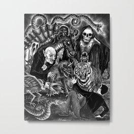 Fear Is The Devil Metal Print