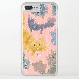 Mail cats Clear iPhone Case