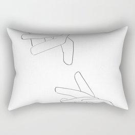 distance Rectangular Pillow
