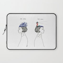 The Chaos and The Calm Laptop Sleeve