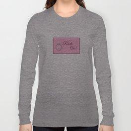 Rock On! Engagement Announcement Long Sleeve T-shirt