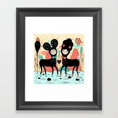 Love • Love Framed Art Print