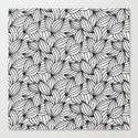 Abstract Lines Pattern Design 2 - Leaf by pixaroma
