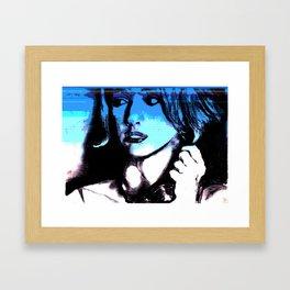 Spy girls of the 60's #1 Framed Art Print
