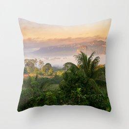 Restaurante de Trinidad Throw Pillow